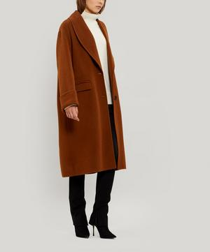 Kara Double-Faced Wool Duster Coat