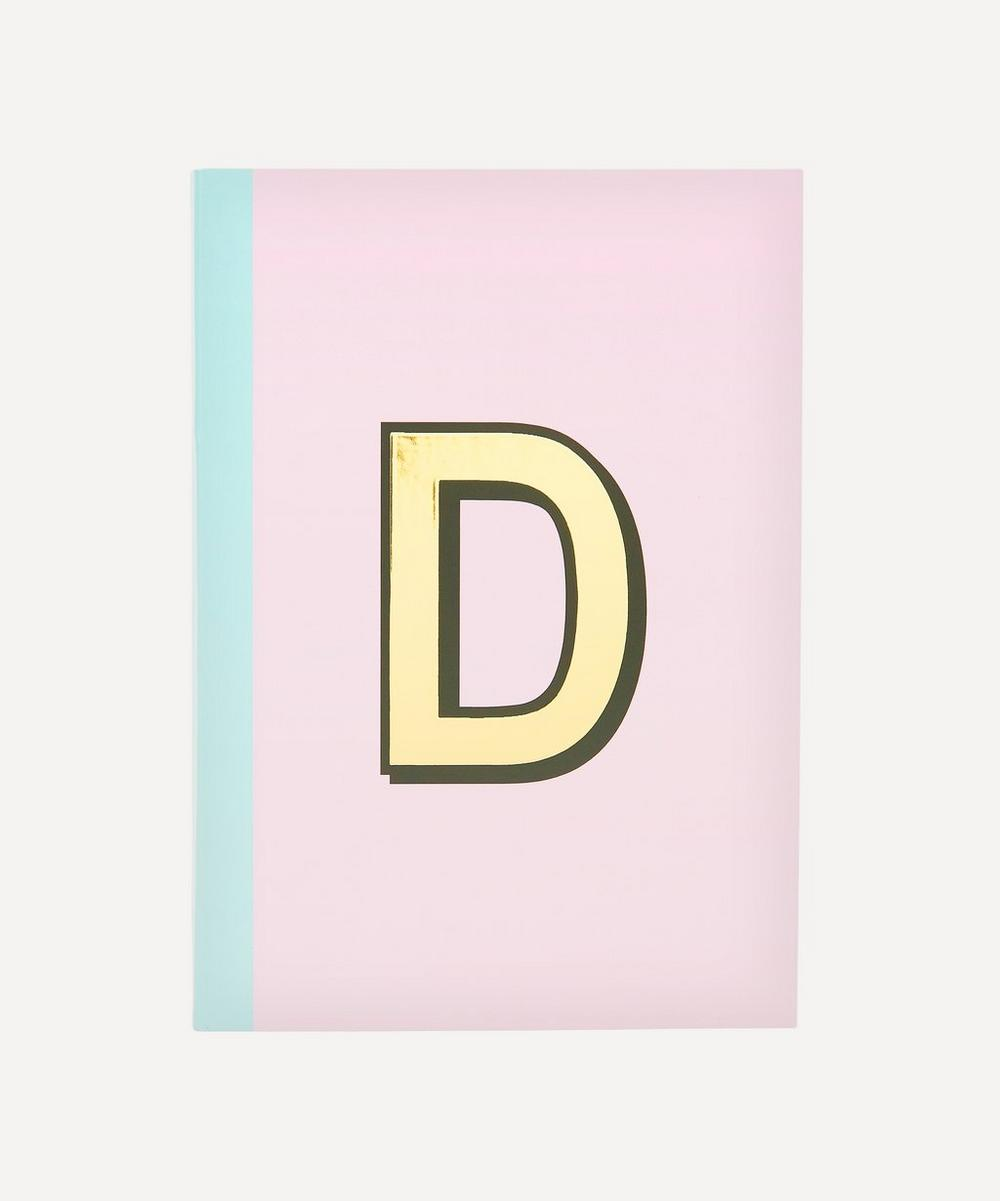 Re: Stationery - Letter 'D' A5 Notebook