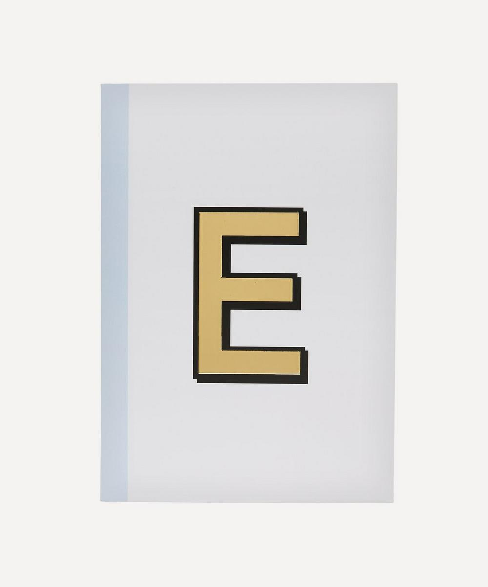 Re: Stationery - Letter 'E' A5 Notebook