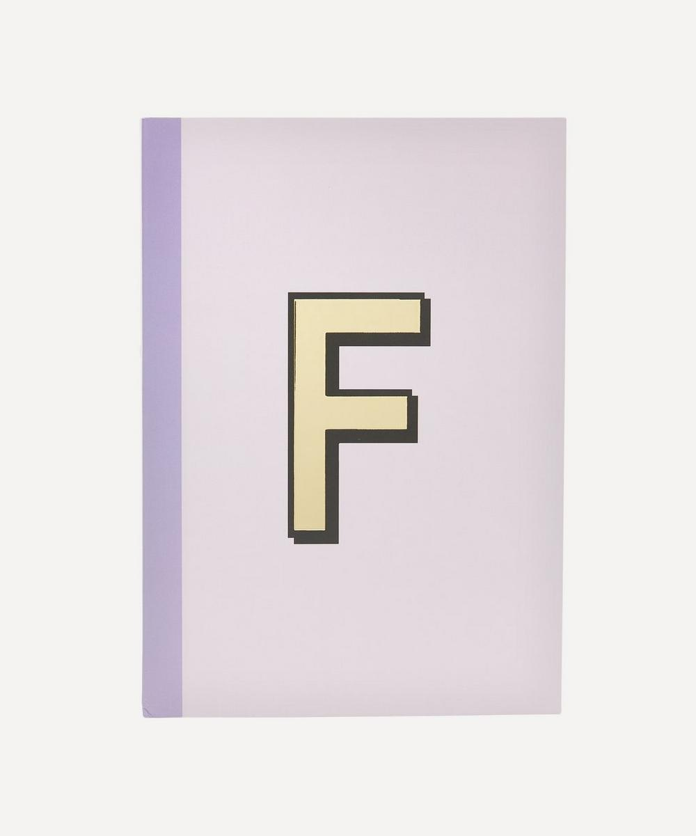 Re: Stationery - Letter 'F' A5 Notebook