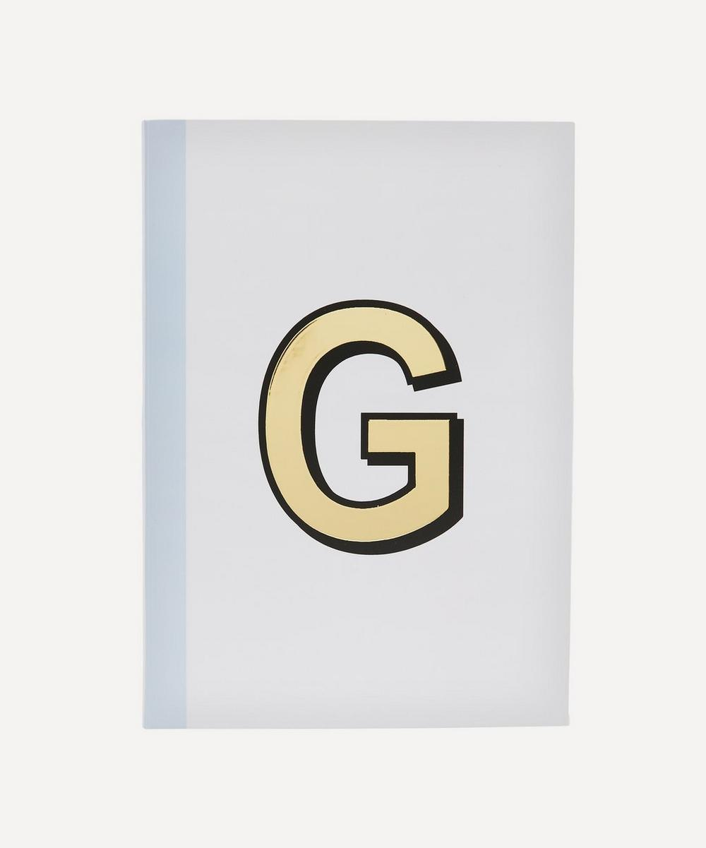 Re: Stationery - Letter 'G' A5 Notebook