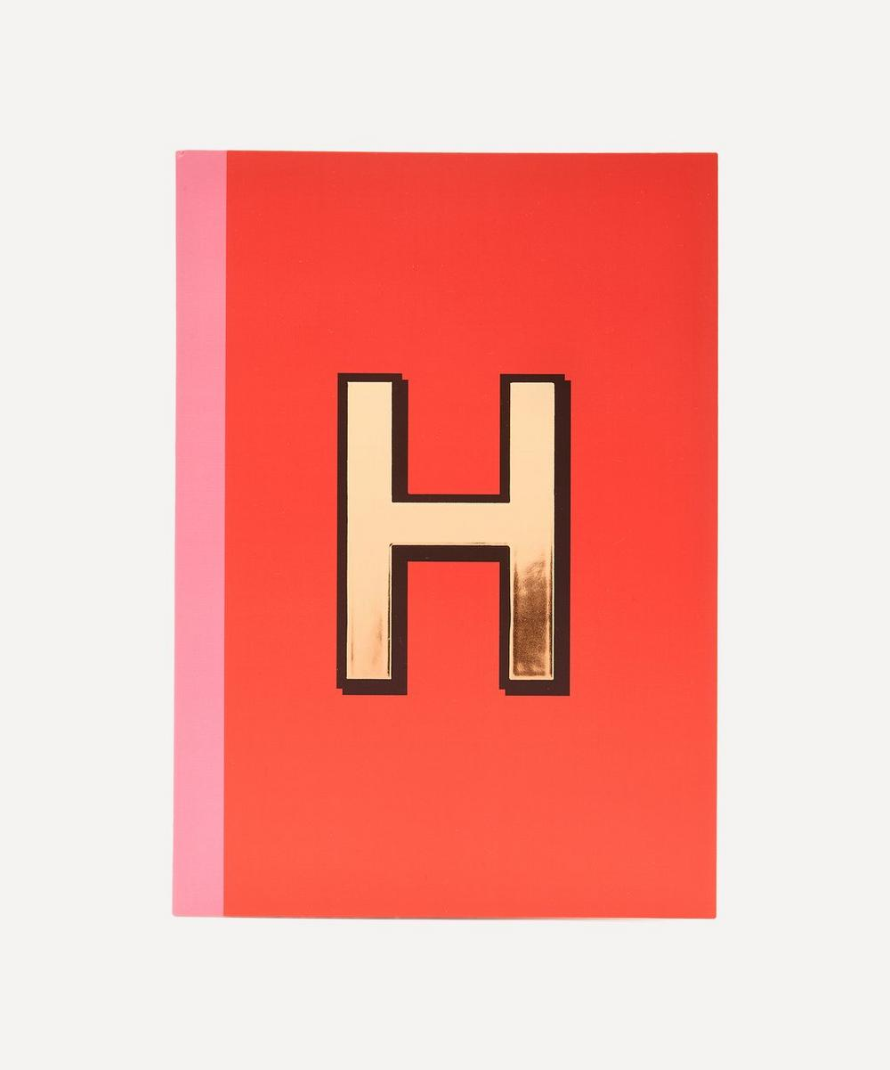 Re: Stationery - Letter 'H' A5 Notebook