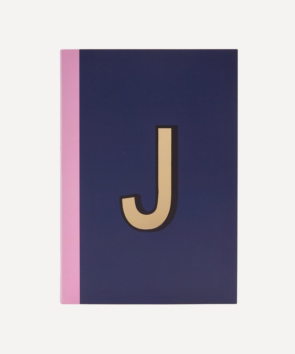 Re: Stationery - Letter 'J' A5 Notebook