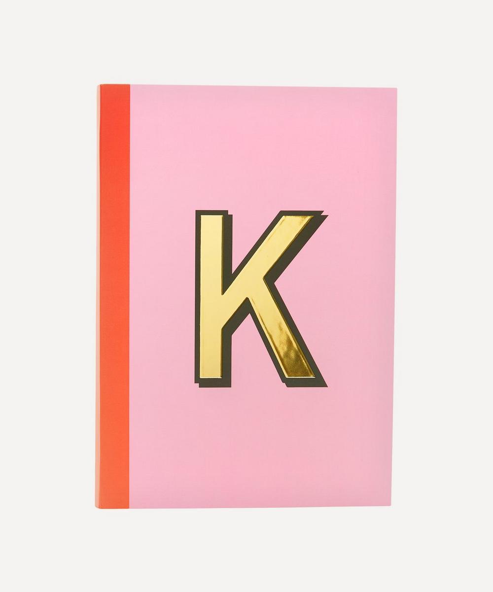 Re: Stationery - Letter 'K' A5 Notebook