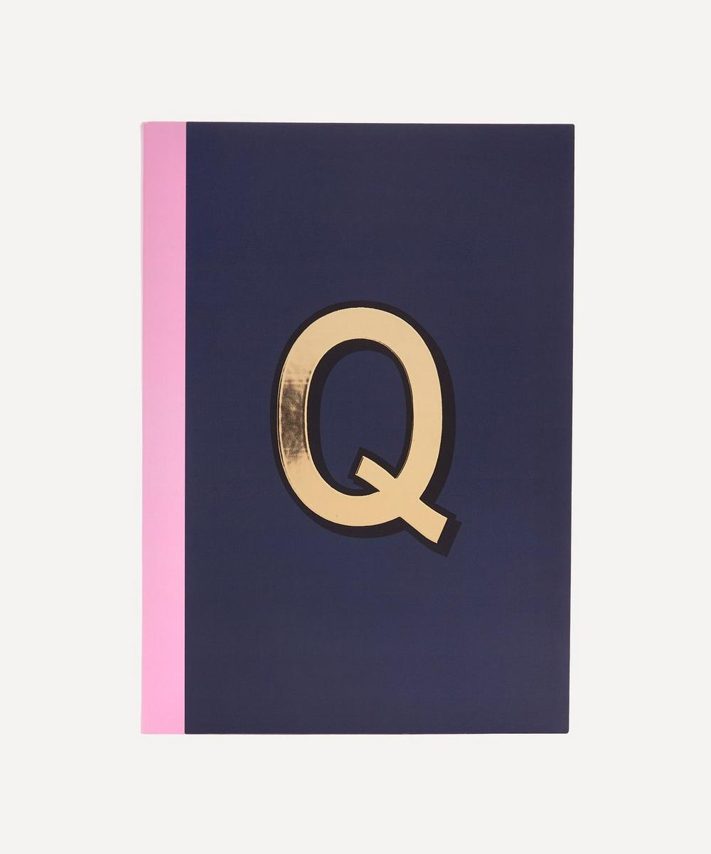 Re: Stationery - Letter 'Q' A5 Notebook