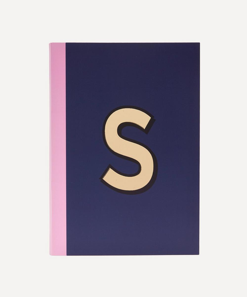 Re: Stationery - Letter 'S' A5 Notebook