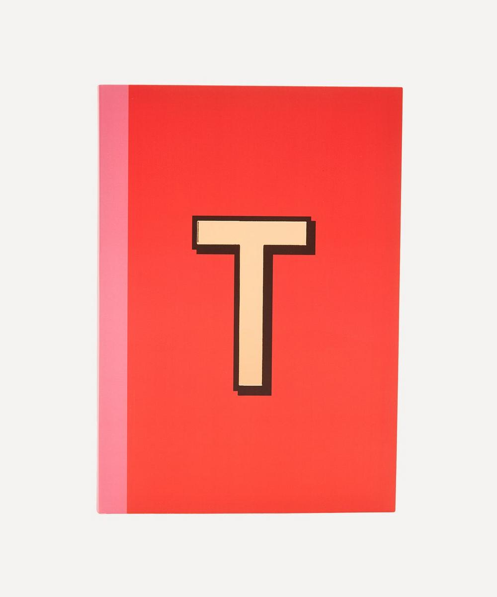 Re: Stationery - Letter 'T' A5 Notebook