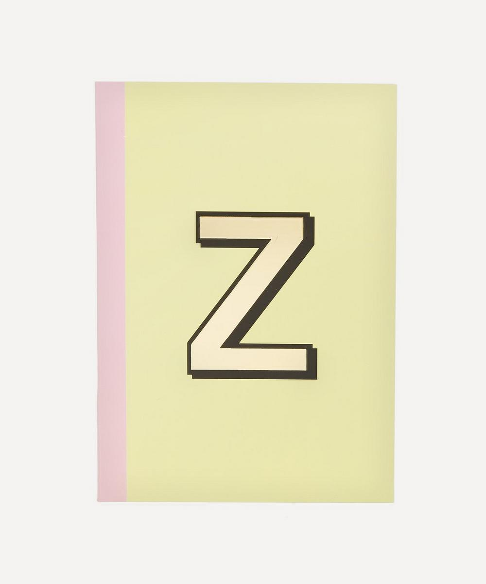 Re: Stationery - Letter 'Z' A5 Notebook