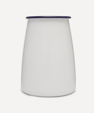 Enamelware Utensil Pot