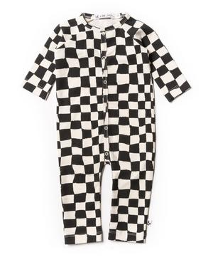 Checker Playsuit 0-24 Months