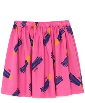 All Over A Star Called Home Flared Skirt 2-8 Years