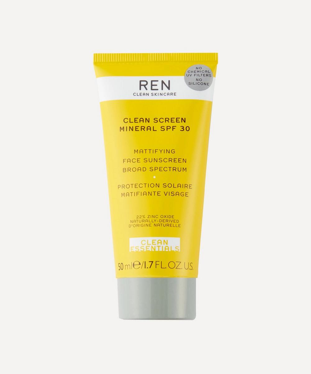 REN Clean Skincare - Clean Screen Mineral SPF 30 50ml