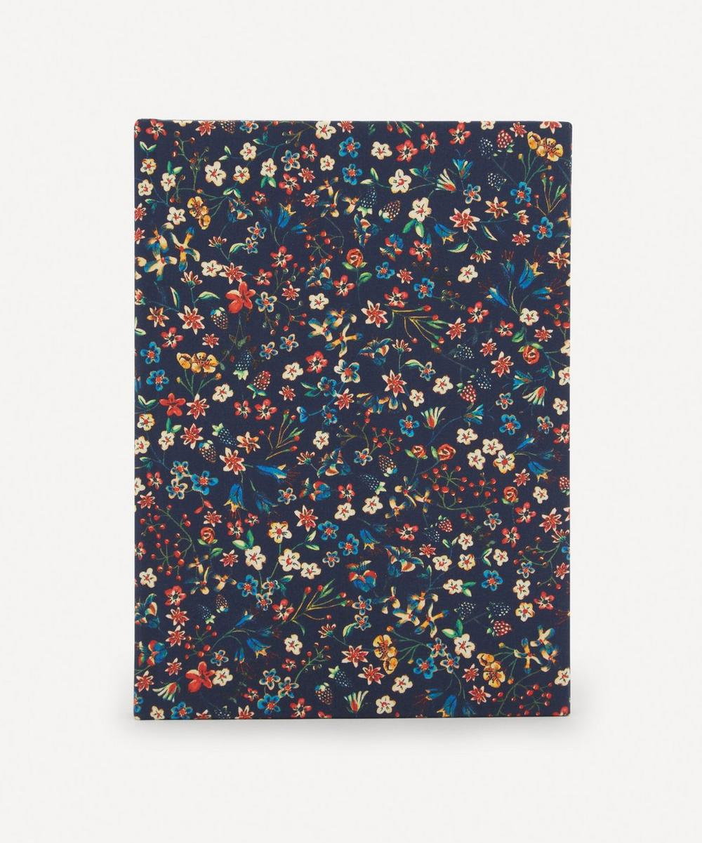 Liberty London - Donna Leigh Print Cotton A5 Notebook