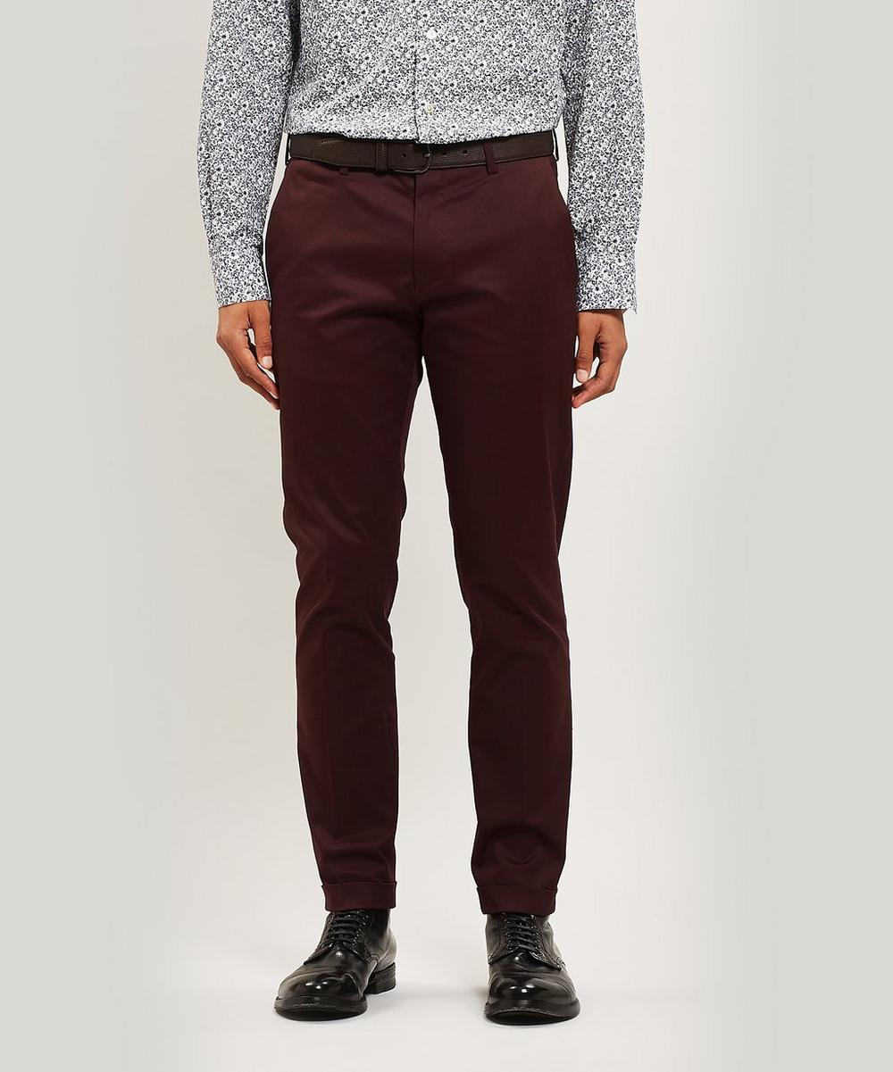 Paul Smith - Cotton Twill Turn-Up Trousers