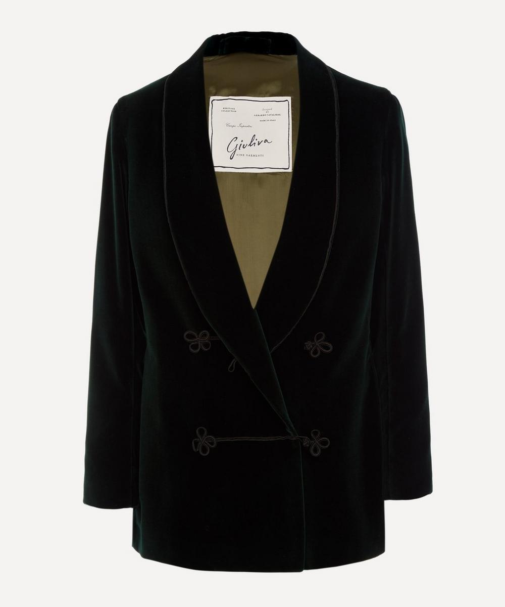 Giuliva Heritage Collection - Velvet Dinner Jacket