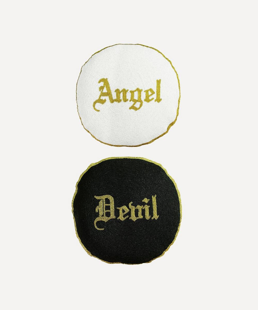 Rockett St George - Angel or Devil Double-Sided Cushion