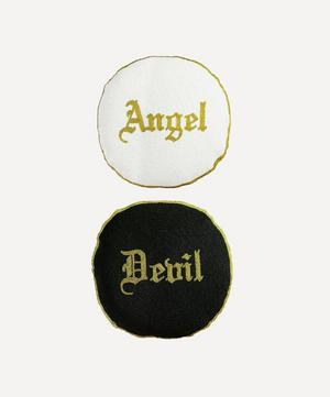 Angel or Devil Double-Sided Cushion