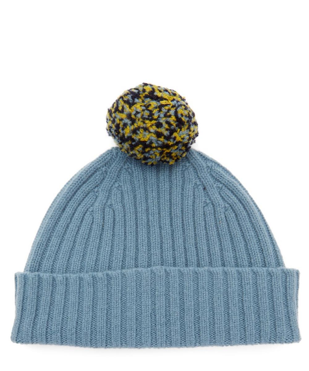 Quinton Chadwick - Seamless Pom Pom Wool Beanie Hat