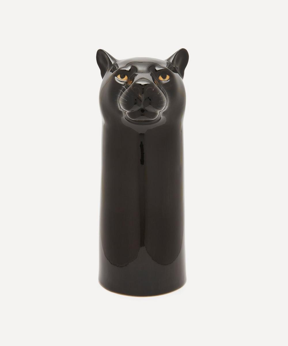 Quail - Large Panther Vase