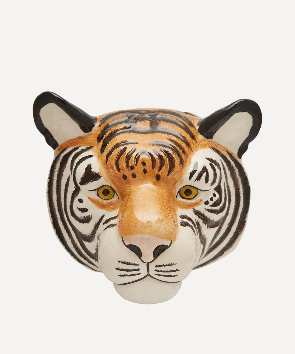 Quail - Tiger Wall Vase