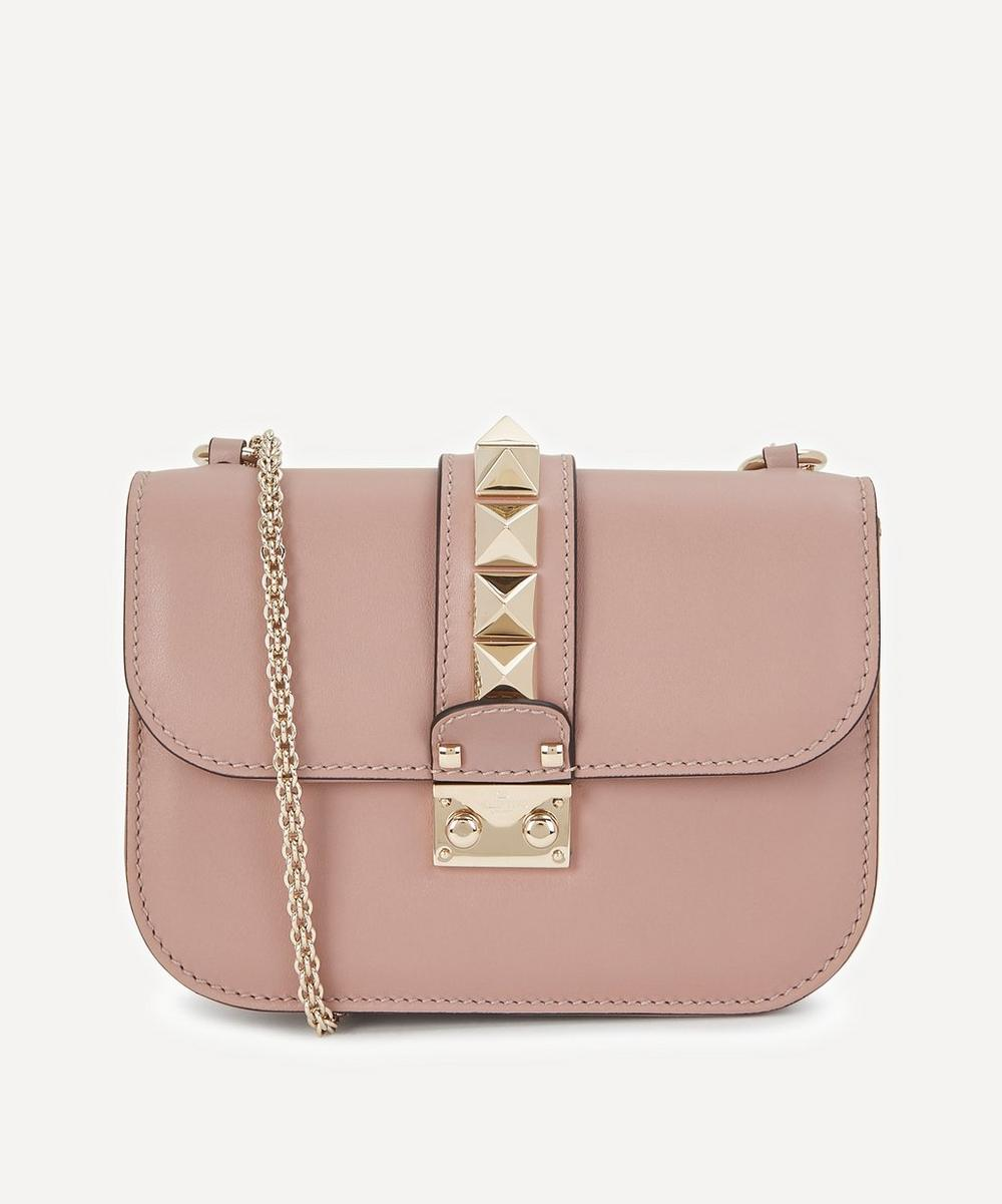 Valentino Garavani - Small Leather Rockstud Cross-Body Bag