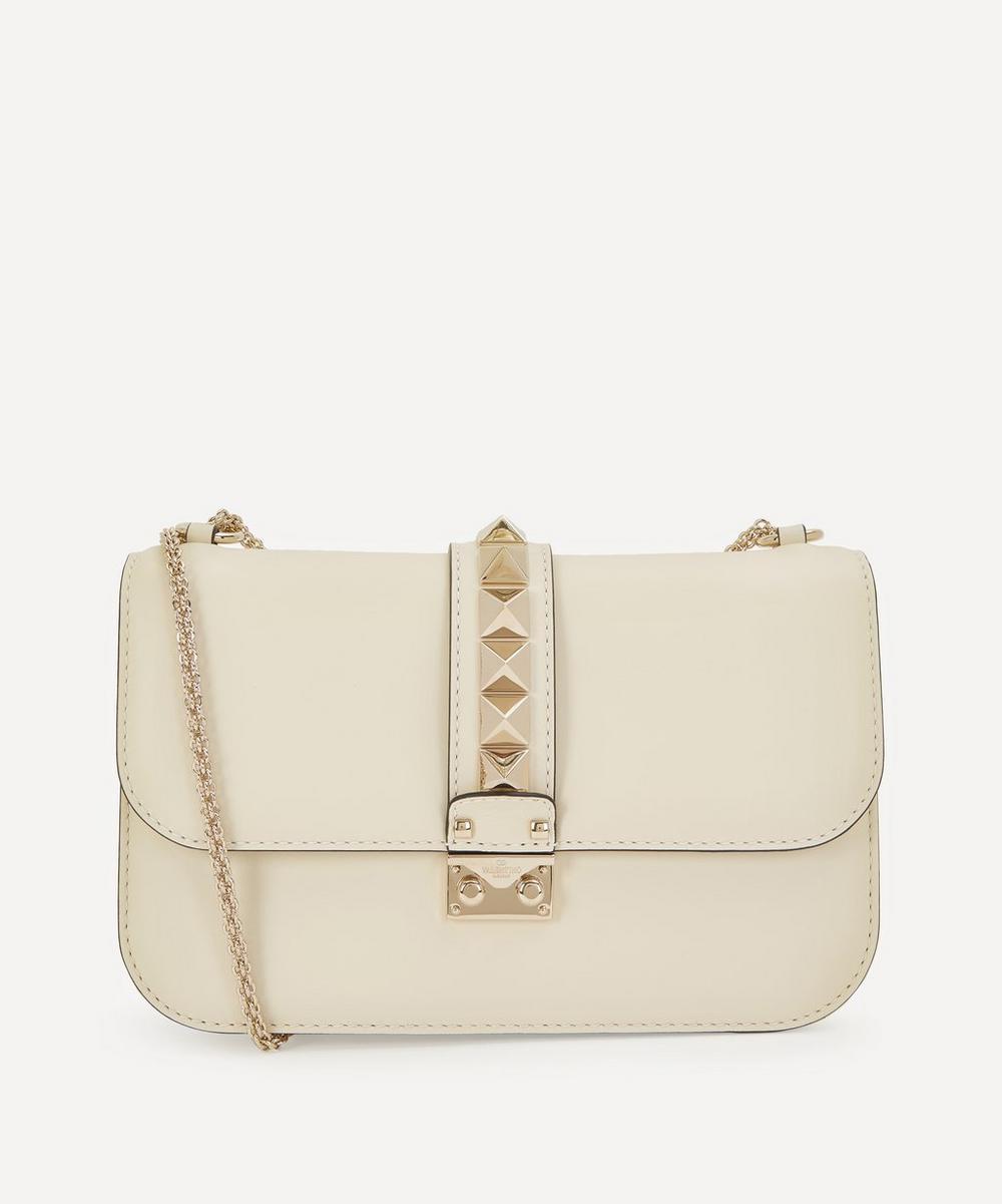 Valentino Garavani - Medium Leather Rockstud Shoulder Bag