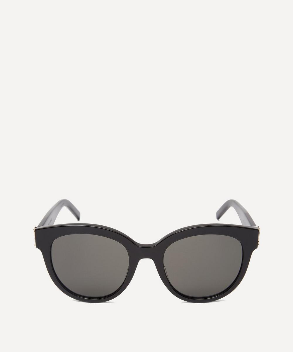 Saint Laurent - Round Cat-Eye Sunglasses