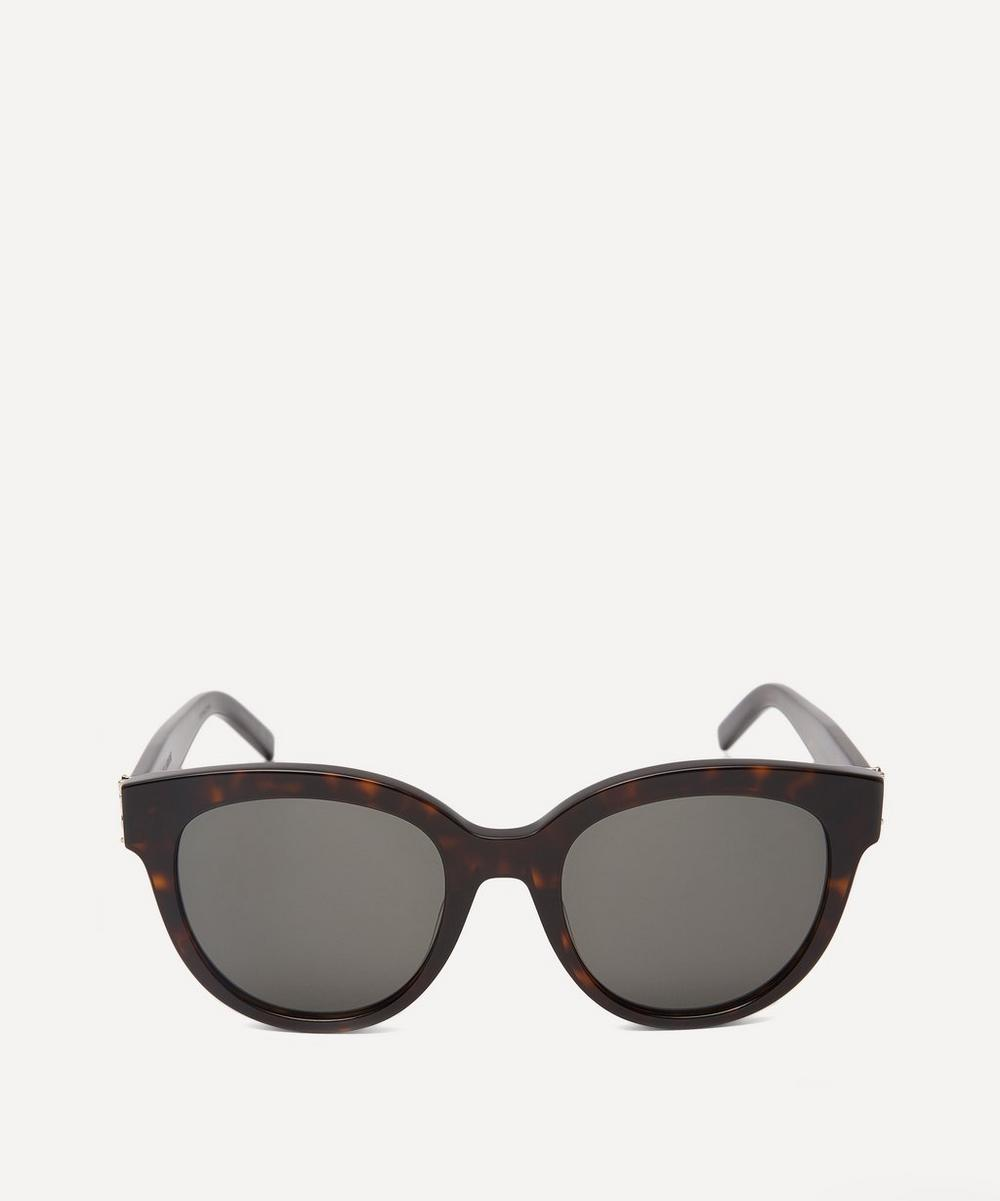 Saint Laurent - Round Cat-Eye Sunglasses