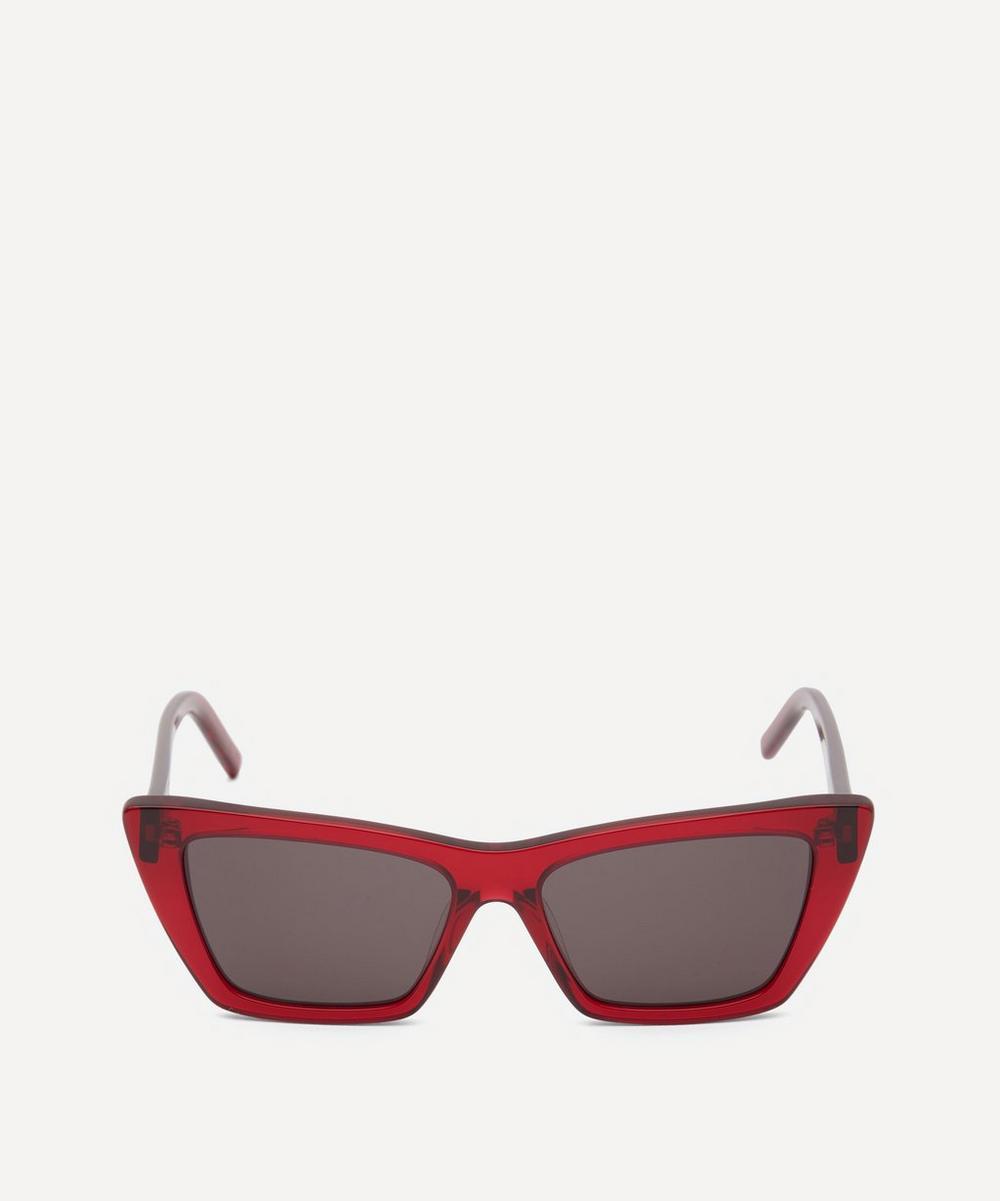 Saint Laurent - New Wave Mica Cat-Eye Sunglasses