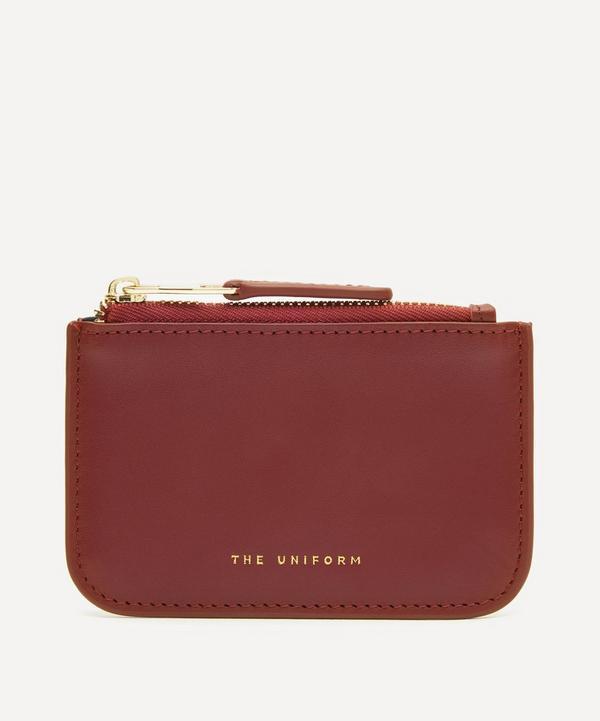 THE UNIFORM - Leather Zip Purse