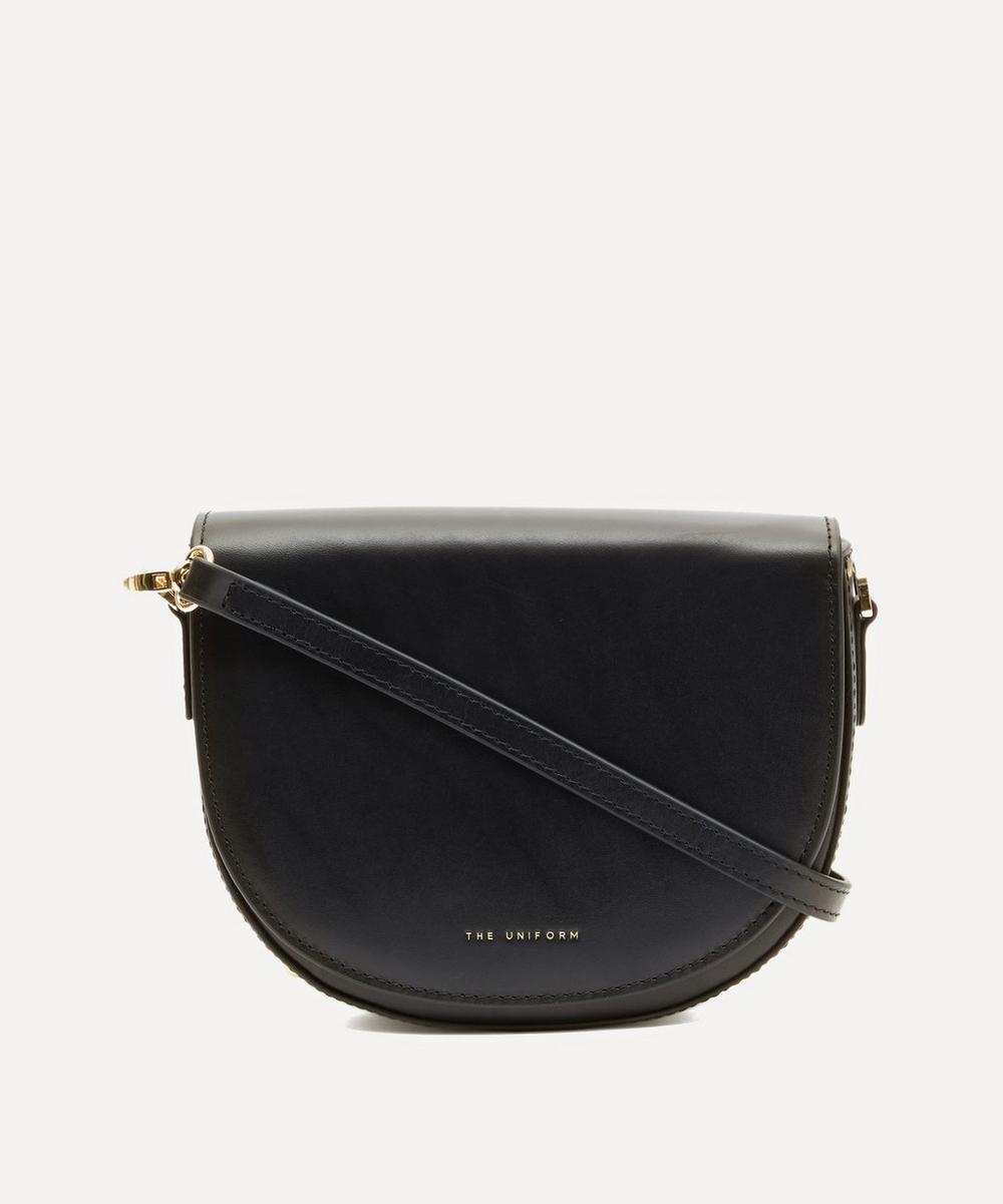 THE UNIFORM - Mini Leather Saddle Bag