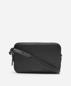 Leather Cross-Body Box Bag