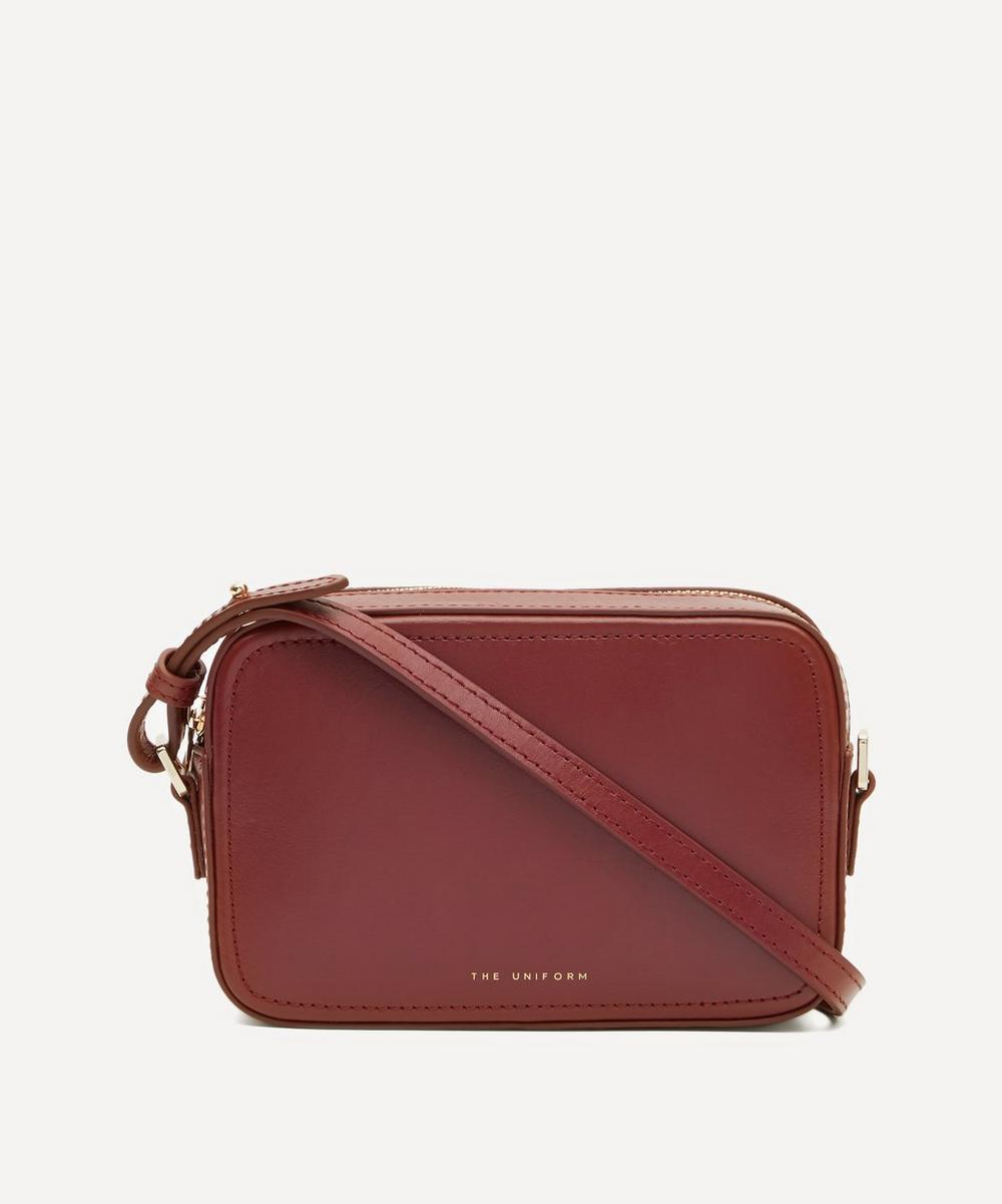 THE UNIFORM - Leather Cross-Body Box Bag