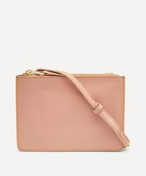 Leather Duo Cross-Body Bag
