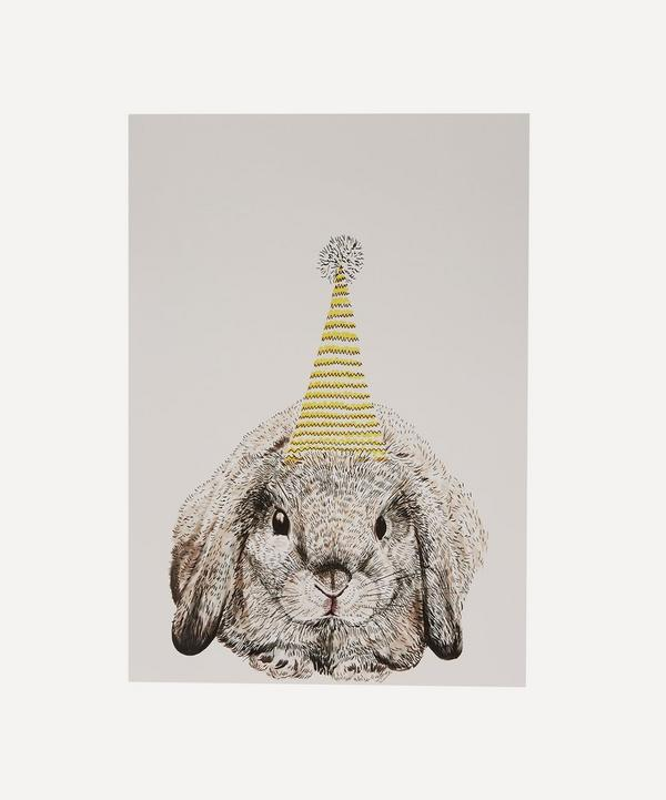 Max Made Me Do It - A3 Party Bunny Print