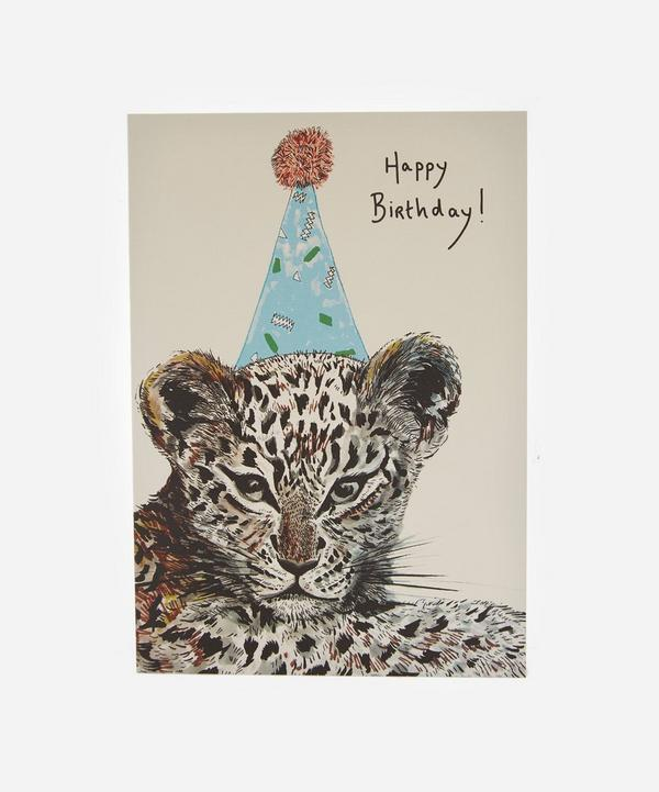 Max Made Me Do It - Party Leopard Card