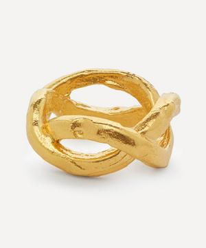 Gold-Plated The Unbearable Lightness Ring