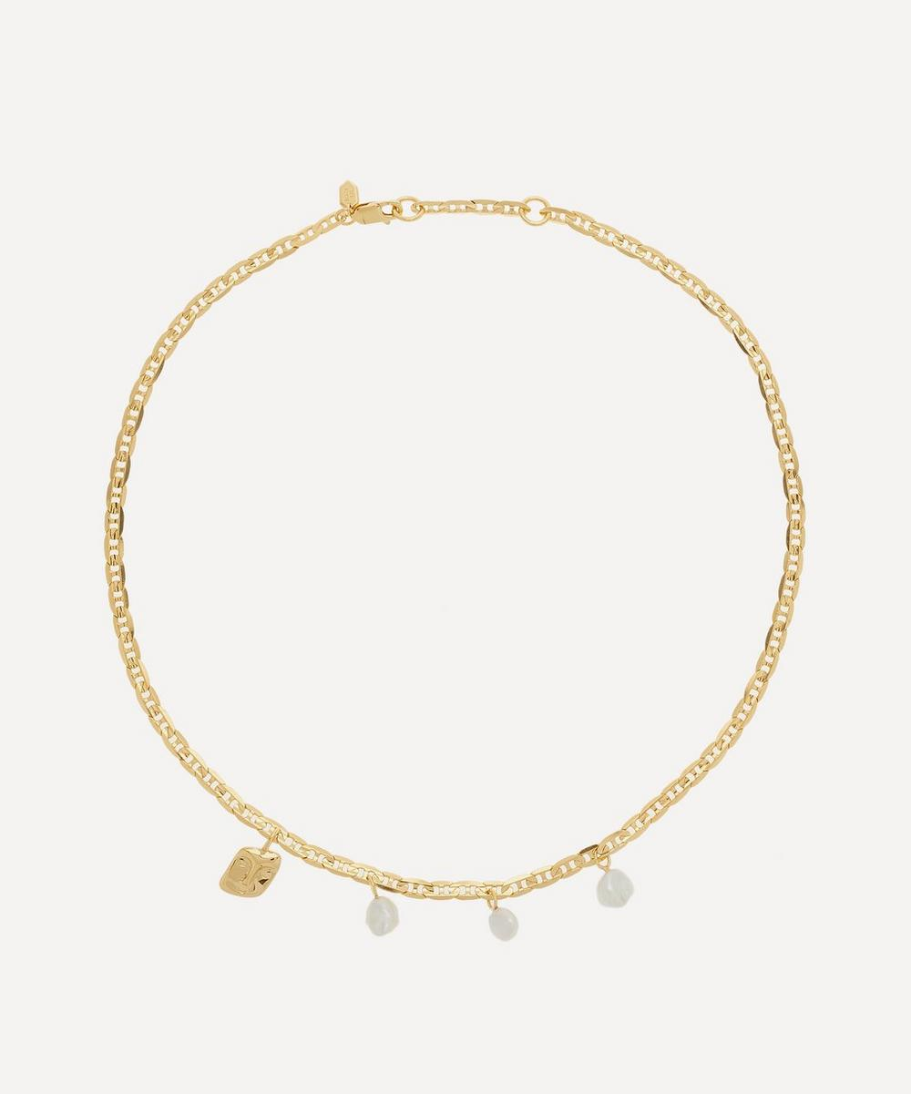 Maria Black - Gold-Plated Crew Necklace