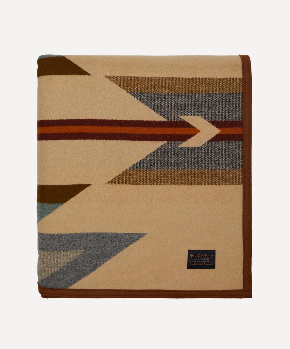 Pendleton - Wyeth Trail Jacquard Wool-Blend Blanket