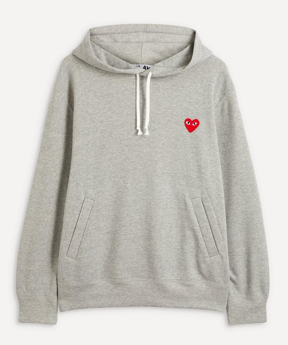 Comme des Garçons Play - Heart Logo Patch Cotton Hoodie