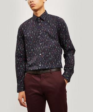 Floral Slim-Fit Cotton Shirt