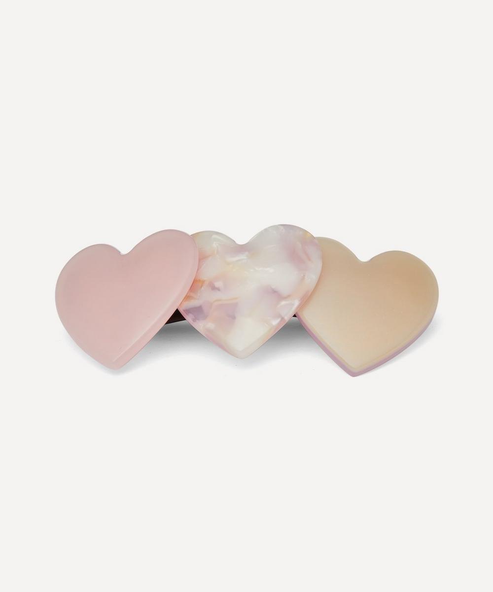 Valet - Bianca Heart Hair Clip
