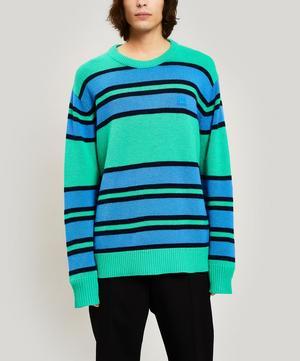 Nimah Striped Face Sweater