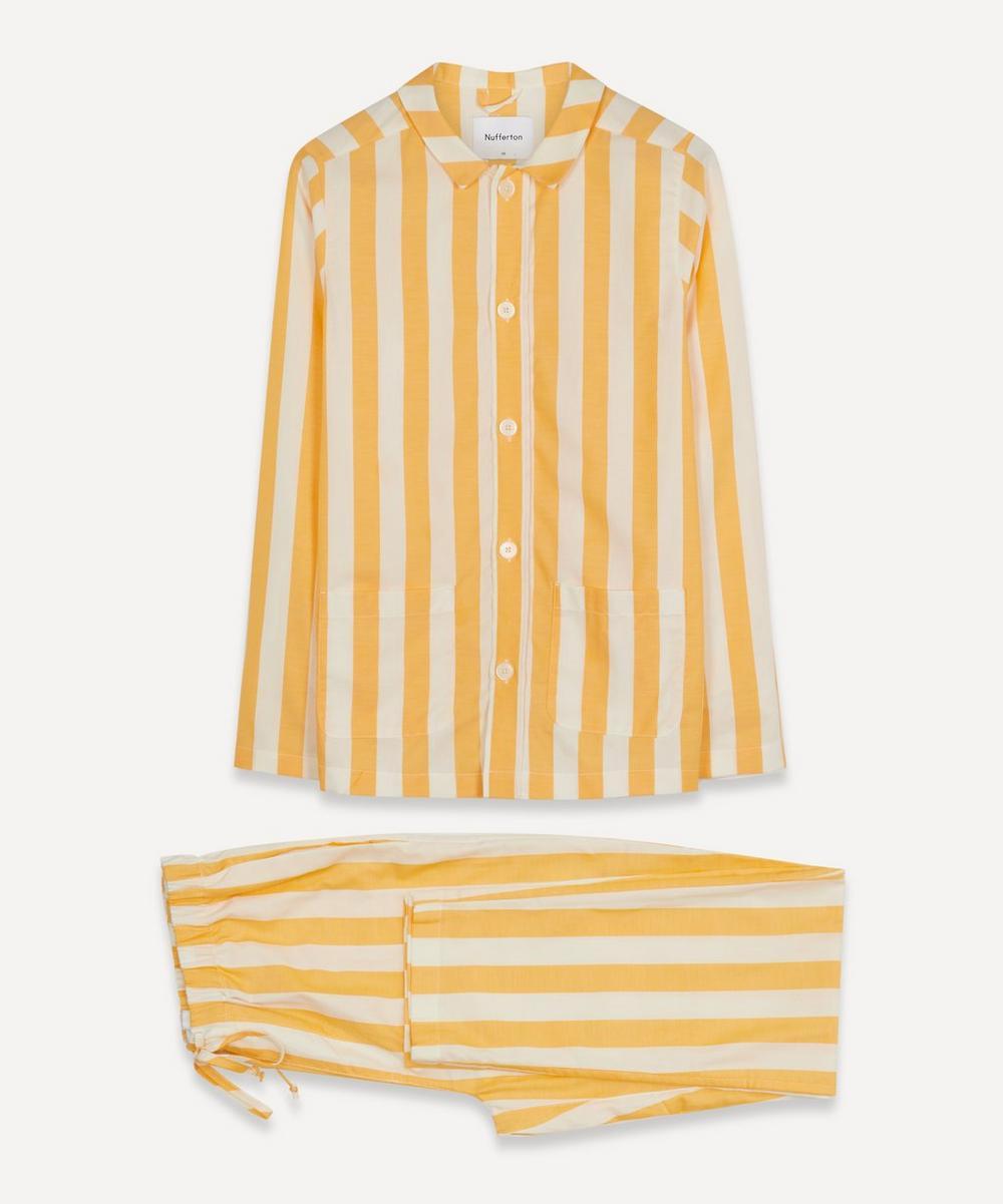 Nufferton - Uno Striped Cotton Twill Pyjamas