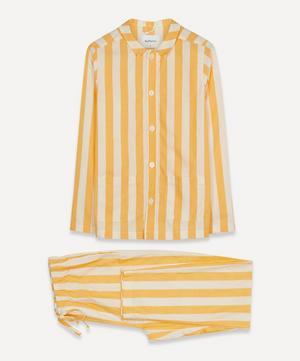 Uno Striped Cotton Twill Pyjamas