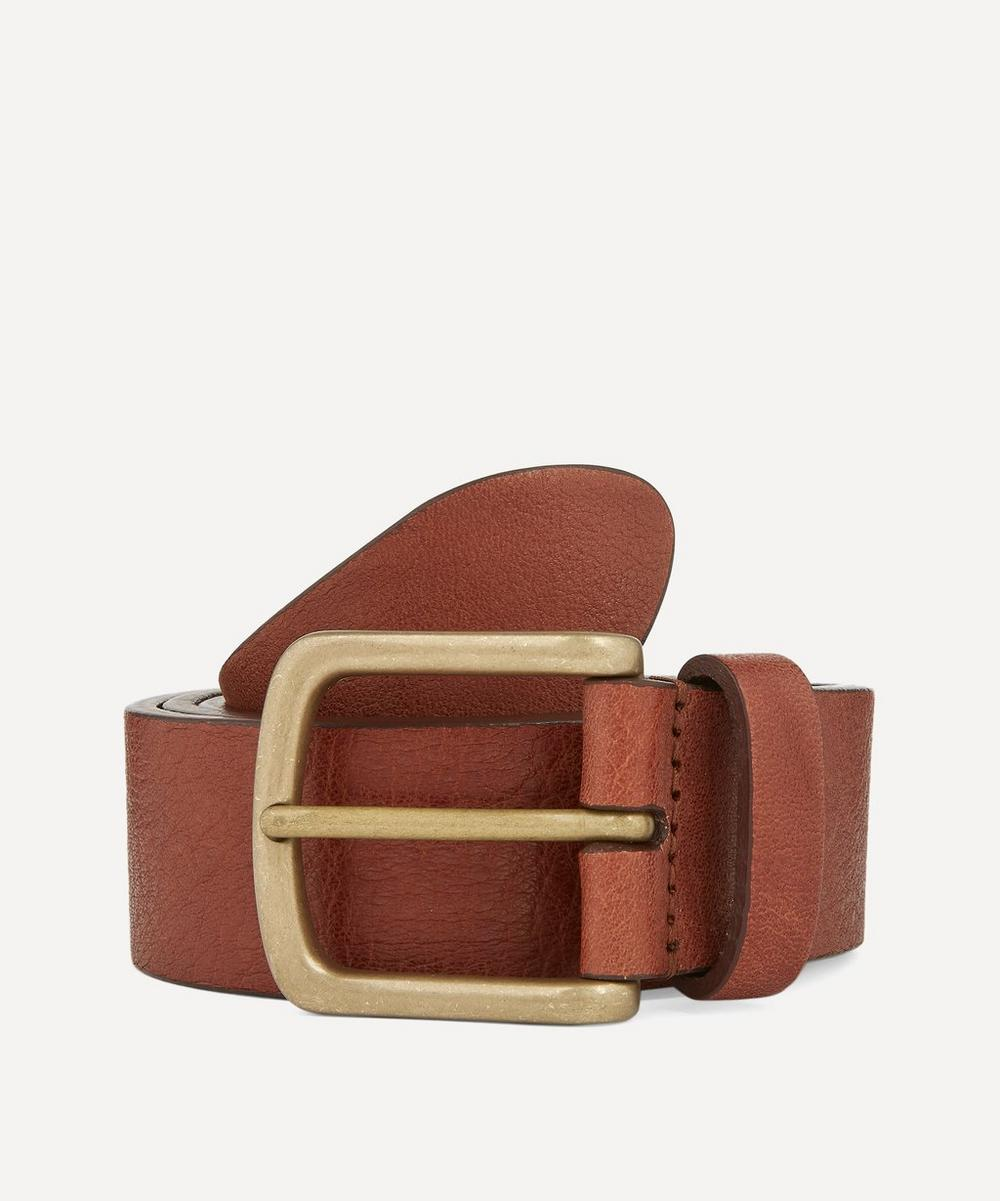 Anderson's - Full Grain Calf Leather Belt image number 0