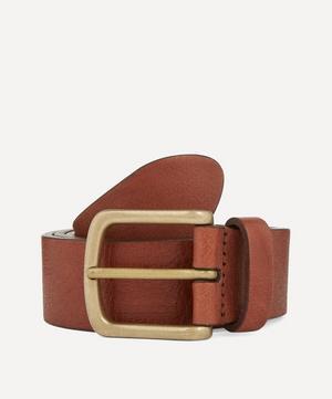 Full Grain Calf Leather Belt