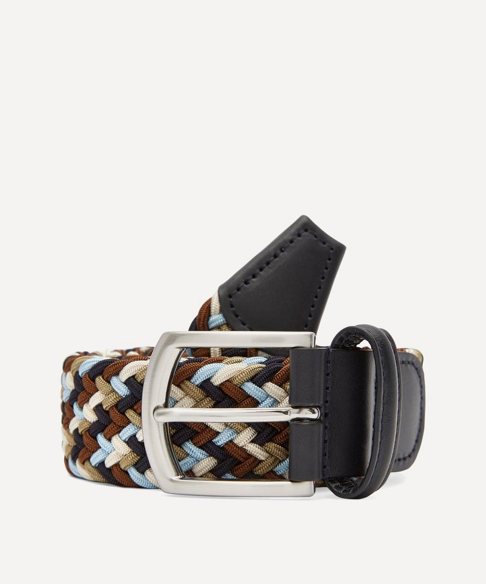 Anderson's - Multicoloured Elasticated Woven Belt
