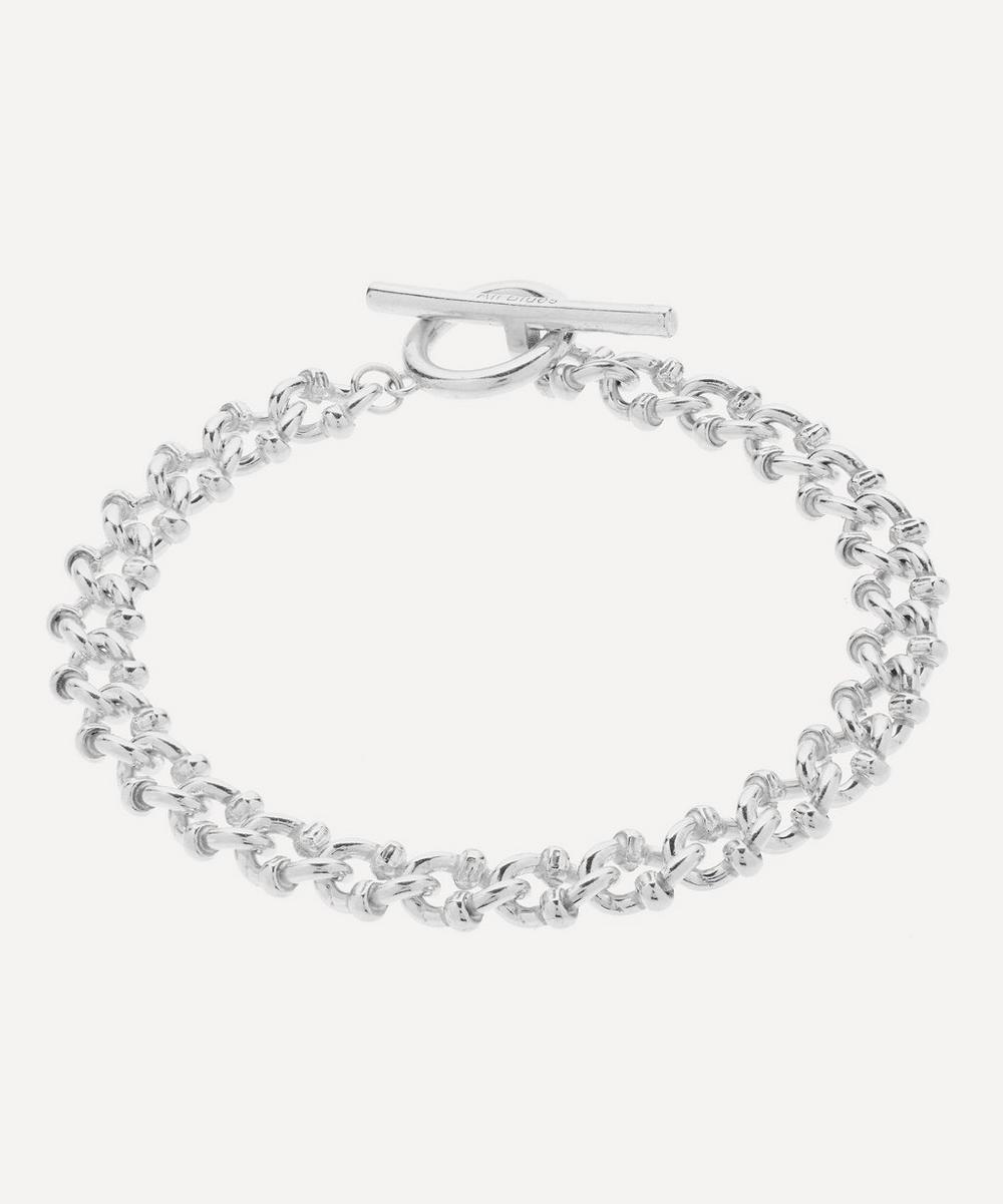 All Blues - Silver DNA Bracelet