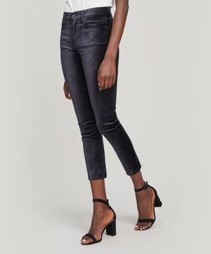 Harlow Mid-Rise Slim-Leg Jeans